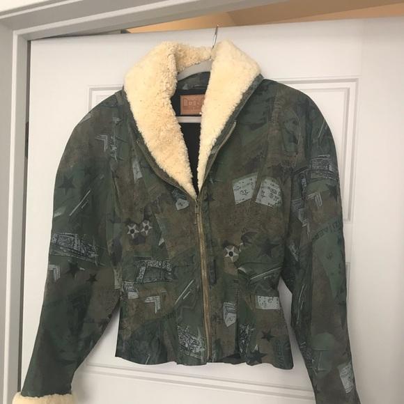 Vintage Other - Vintage Denis Naville Leather Jacket Size Medium